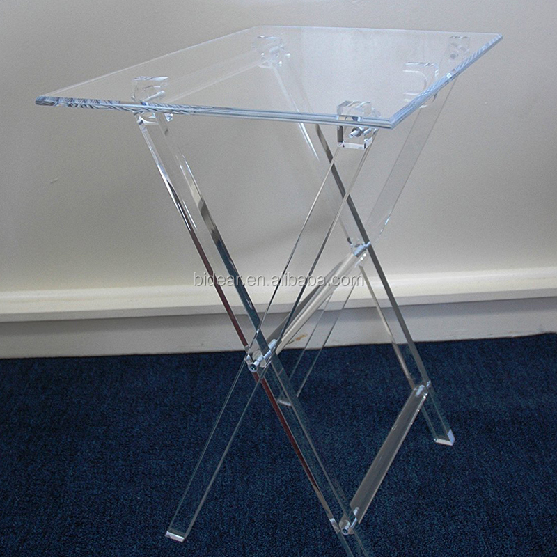 acrylic furniture lucite snack table acrylic furniture lucite snack table suppliers and manufacturers at alibabacom acrylic furniture lucite