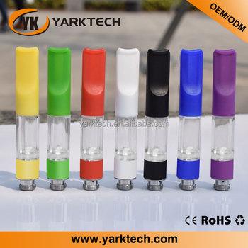 0.5ml cartridge 510 cbd oil vape plastic cartridge clear empty tank  atomizer vape