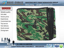 100% Microfiber quilted Heavy Camo polyester Moving blanket