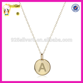 14k yellow gold initial pendant necklace hot sale letter a pendant 14k yellow gold initial pendant necklace hot sale letter a pendant necklace aloadofball Image collections