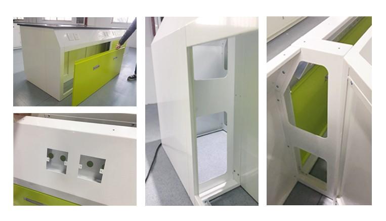Banco Di Lavoro Per Laboratorio Chimico : Moderno mobili scuola laboratorio chimico resina epossidica piano