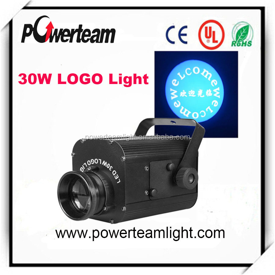 LED Outdoor 30W LED portable mini projector 10w 20w 30w led gobo light for traffic sign