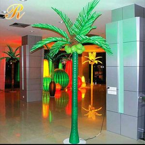 Energy-saving palm tree bath towel set