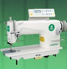 HIGH-SPEED LOCKSTICH SEWING MACHINE WITH AUTO-TRIMMER