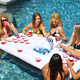 Inflatable new pool party Salad Cooler Party Table Ice Bucket Food & Drinks inflatable floating pool Serving Bar
