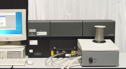 LS 13 320 Particle Size Analyzer - Beckman Coulter
