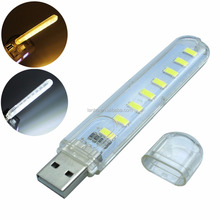 Draagbare 5730 SMD 8 LED <span class=keywords><strong>USB</strong></span> Licht voor PC Desktop Laptop Notebook Reading <span class=keywords><strong>USB</strong></span> <span class=keywords><strong>Gadgets</strong></span>
