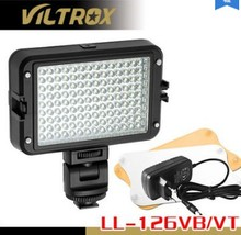 viltrox LL-126VB adjustable brightness Television wedding DSLR  photographic camera LED lights fill light video LED flash