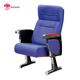 lecture hall room furniture seating theater chair folding with writing pad tablet armrest