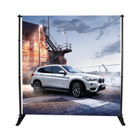 telescopic frame and repeat wall photography photobooth backdrop