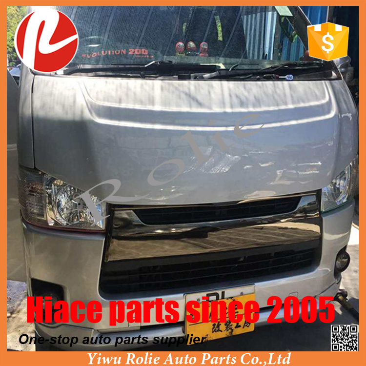 1Toyota Hiace Commuter Quantum super GL KDH 200 clown engine hoods bonnet