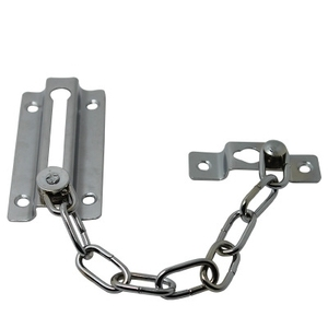 Metal Steel Door Chain Guard Safety Security Bolt For Hotel