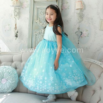 Wholesale fashion cosplay new little girl party wear western birthday party  princess dress for girl Of 00378d1c92