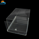 NAXILAI Best Sale Clear Acrylic Shoe Box Slide Acrylic Sliding Lid Box Shoe In Plastic Display Crafts for NIKE Adidas Sneaker