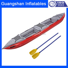 Custom plastic folding portable inflatable canoe