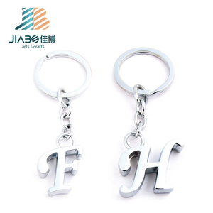 Stock sales hot sale keyring/key chain plated metal custom keychain