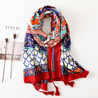 Hot Sale Cotton Muslim Women hijab Scarf With Tassel Large Fashion Lady Scarf Shawl Cheapest Wholesale Scarf Shawl