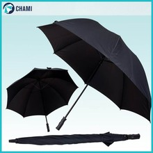 Cheap promotional golf double ribs umbrella