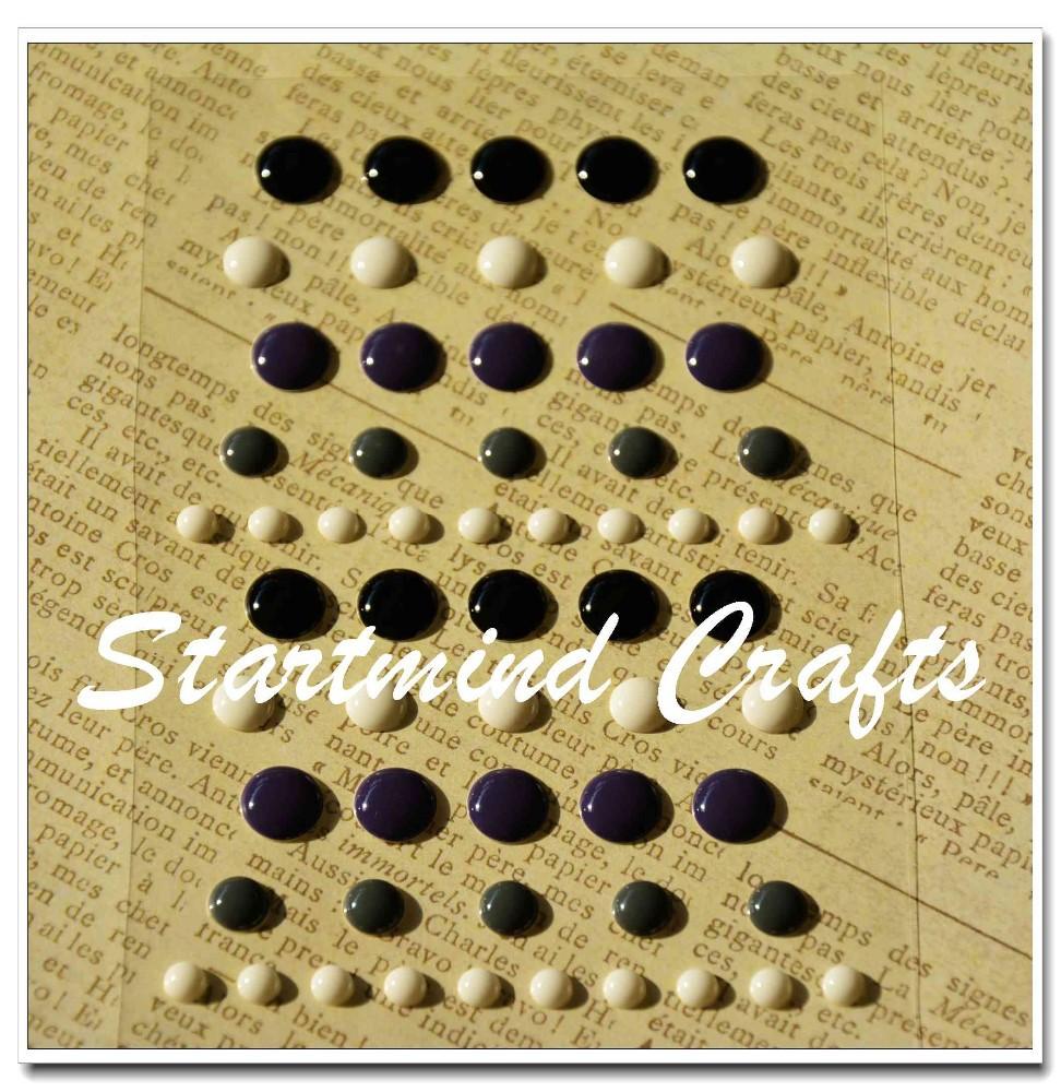 Popular round enamel dot stickers for scrapbookbutton sticker