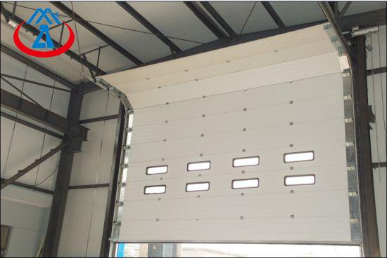 product-Wholesale Color Steel Overhead Garage Door Industrial Lifting Doorfor Warehouse or Factory-Z