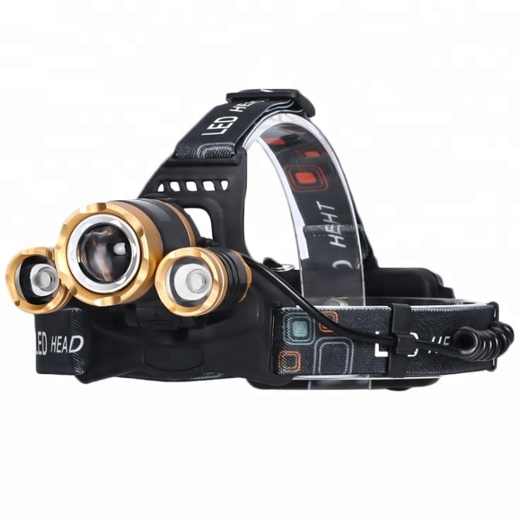 High Power led Headlamp, Most Powerful Rechargeable 10W xml t6 led rechargeable headlamp