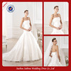 WY0271 Popular Low Waist Simple Wedding Dresses Western Styles Wedding Dress
