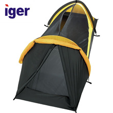 3 Person waterproof light color camping Tent outdoor customized long fun camping tent