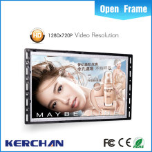 7 inch small video display screen, lcd monitor with sd card, motion sensor capacitive touch screen hot sale lcd kiosk