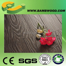 Economic Traditional Black Bamboo Flooring With SGS