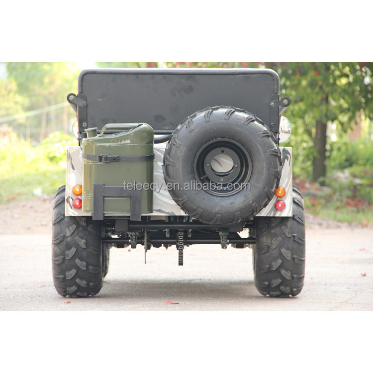 110cc 125er 150cc mini jeep go kart gas vier r der f r. Black Bedroom Furniture Sets. Home Design Ideas