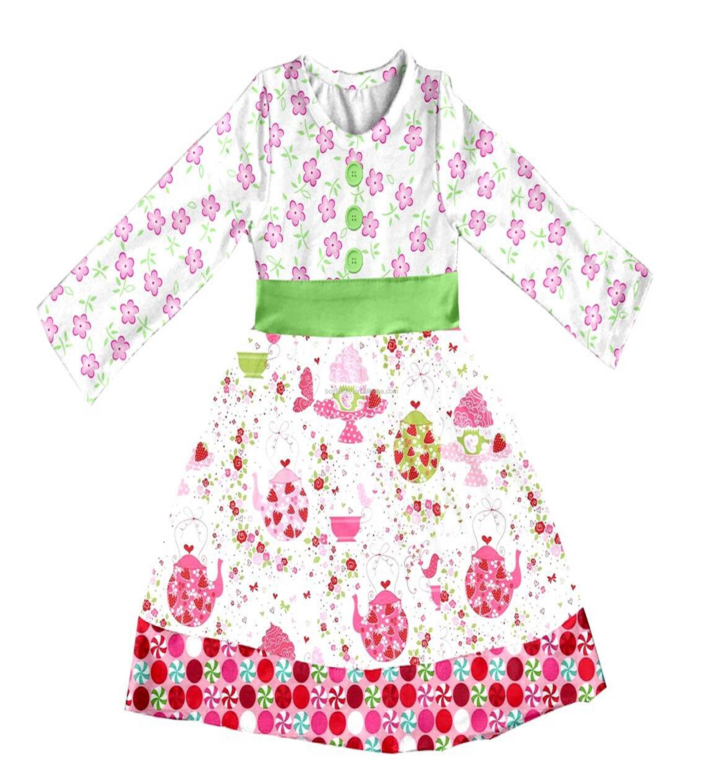 Finden Sie Hohe Qualität Neueste Kinder Kleider Designs Kleider Für ...