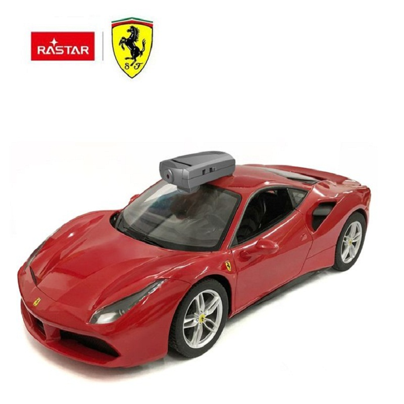 RASTAR long range control camera toy Ferrari rc car with vr box 3d glasses