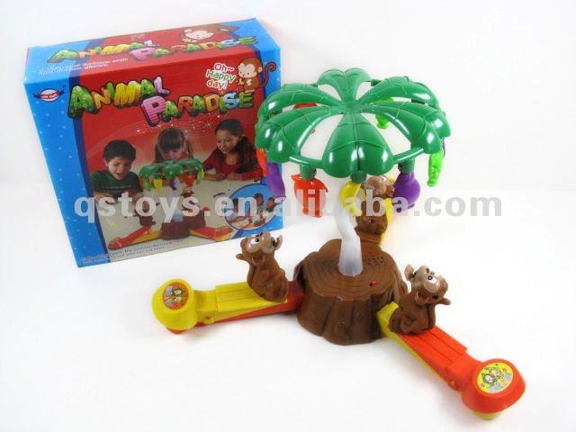 Educational game,Jumping Monkey with light and music