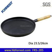 cast iron paella pan
