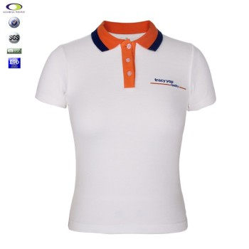 Women S Office Uniform Design Embroidered Polo Shirts
