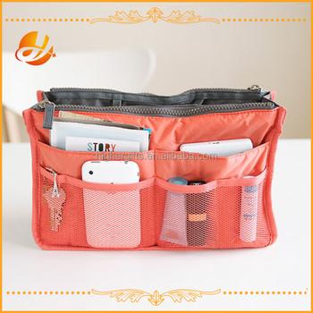 Purse Organizer Insert Handbag Bag Nylon In