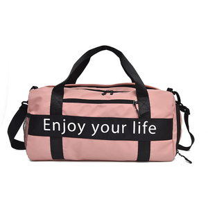 Fashion Travel Cheer Gym Duffle Bag Mountain Travel Tote Duffle Bag