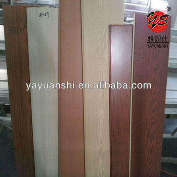 Philippines wood texture design laminated pvc wall panels