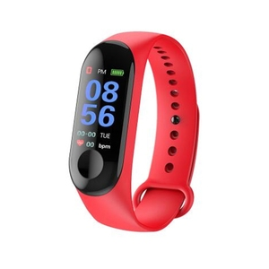 Image of For Xiaomi Band M3 Smart Band Wristband Fitness Bracelet Band 3 Big Touch Screen Color LCD Message Heart Rate Time Smartwatch