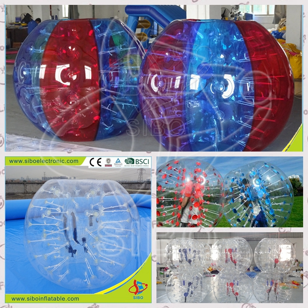 171160203 funny inflatable bubble football for competitive game