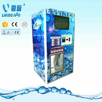 Automatic Self Service Bulk And Bagged Ice Vending Machine