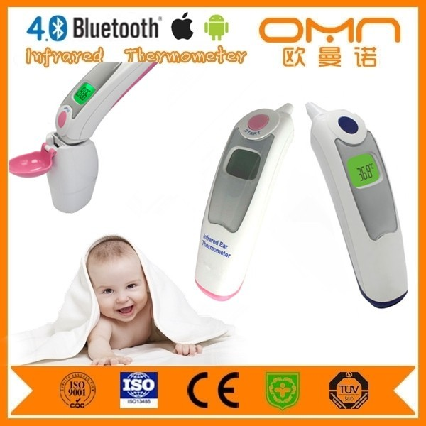 Fully automatic smart sensor Kids Digital Temperature Thermometer ear forehead