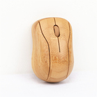 Factory lowest price hand make bamboo mouse custom wireless usb mini mouse