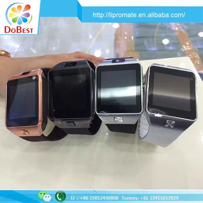 OEM Manufacturing Bluetooth Best Price DZ09 MP3 Playback Smart Watch