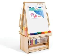 Gold supplier china kids wooden easels stand for sale
