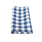 popular custom check mesh cleaning cloth set