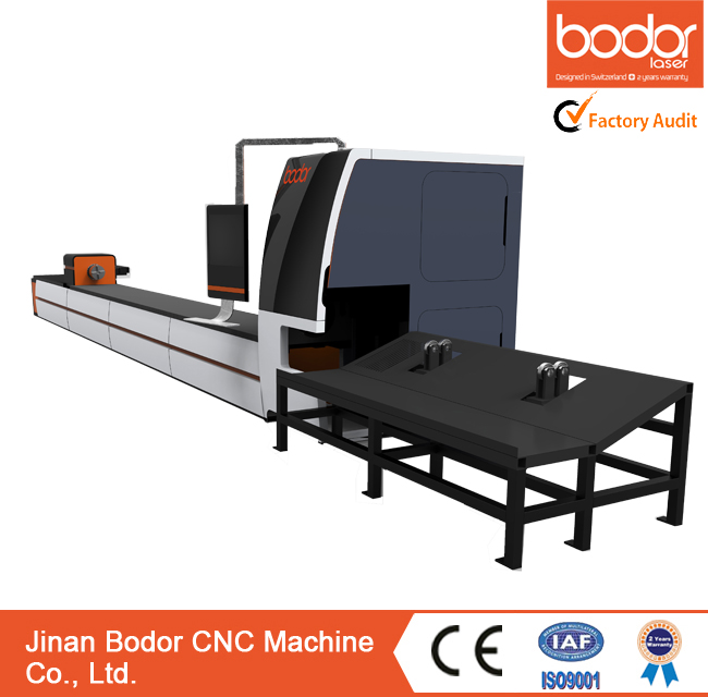 LAS,DWG,BMP,AI,PLT,DST graphic format supported metal tube fiber laser cutting machine with CE certification