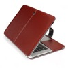 High quality leather case for macbook air pro 13 inch, for macbook laptop case&cover