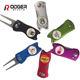 High Quality Bulk Metal Golf Divot Tool with personalized Logo Ball Marker,colorful Pitch Fork