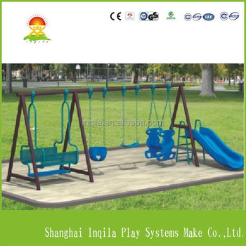 Outdoor Playground Kids Metal Swing Set And Silde Buy Swing Set Kids Metal Swing Set Metal Swing Product On Alibaba Com
